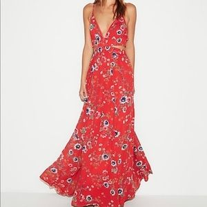 Express Floral Maxi Dress! Beautiful Dress!